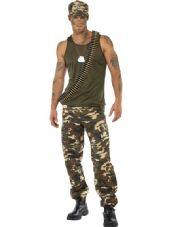 Forces Camo Soldier Costume
